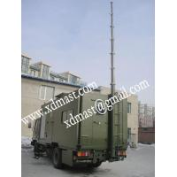 Buy cheap vehicle mounted telescoping antenna masts and mobile telecom antenna tower mast from wholesalers