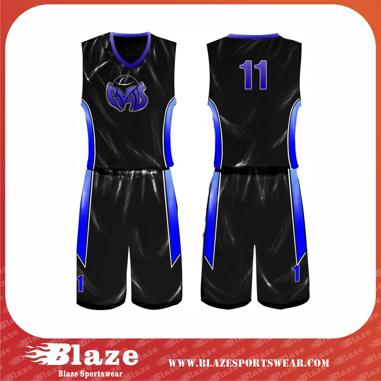 Buy cheap Customized team sublimation basketball uniform from wholesalers