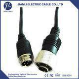 Buy cheap car reserve camera 13 pin custom cable with 4 pin aviation plug from wholesalers