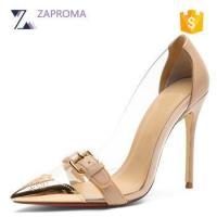 Buy cheap 56S-09 2017 Latest Sexy Transparent Upper Stiletto High Heels For Woman from wholesalers