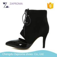 Buy cheap HN011 Autumn Spring Sexy High Heel Ankle Boots Women Shoes Boots from wholesalers