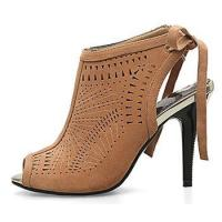 Buy cheap 2017 New design fashion point toe hollow out ladies high heel shoes from wholesalers