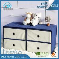 Buy cheap Fabric Cardboard Cubical Shelf Basket Drawer Container product