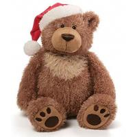 Buy cheap FT-1006 furry bear toy Christmas hat from wholesalers