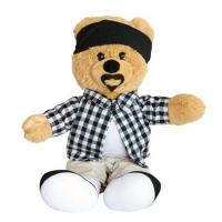Buy cheap Teddy Bear TB-1022 plush bear with moustache from wholesalers