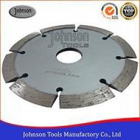 Buy cheap 105mm to 230mm Sintered V Shaped Groove Saw Blade for Brick and Building Material from wholesalers