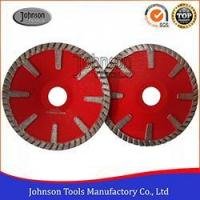 Buy cheap 105-125mm Cold Press Diamond Sintered Concave Saw Blade, Turbo T Diamond Marble Cutting Blade from wholesalers