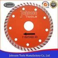 Buy cheap 115mm Continuous Turbo Saw Blade, Diamond Cutting Blade for Ceramic and Tiles from wholesalers