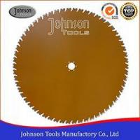 Buy cheap 24-64 Laser Welded Diamond Saw Blade, Concrete Cutting Blade for Wall Saw from wholesalers