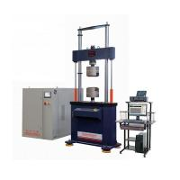 Buy cheap HWS Computer Control Electro-hydraulic Servo Fatigue Testing Machine from wholesalers