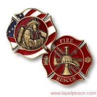Buy cheap Firefighter Challenge Coins from wholesalers