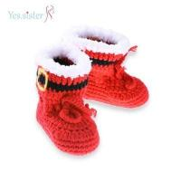 Buy cheap Cute Boots Crochet Baby Booties from wholesalers