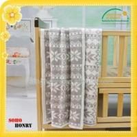 Buy cheap 100%Cotton Jacquard Cable Knitted Children Blanket from wholesalers