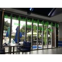 Buy cheap Folding Glass Partition Series Glass movable screen from wholesalers