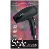 Buy cheap Revlon Dual Voltage 1875 Watt Foldable Travel Hair Dryer - RVDR5033 from wholesalers