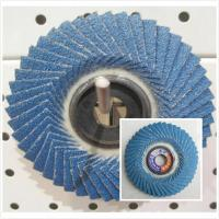 Buy cheap flap disc zirconia flexible flap disc from wholesalers