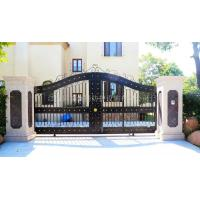 Buy cheap Custom class forged iron products Forged wrought iron gates from wholesalers