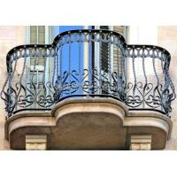 Buy cheap Custom class forged iron products English Balcony rails from wholesalers