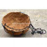 Buy cheap Coconut Fiber Hanging Flower Basket from wholesalers