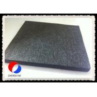 Buy cheap Rayon Based Graphite Fiber Felt High Thermal Insulation 3MM Thickness Width Customized from wholesalers