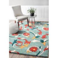 Buy cheap Hand tufted carpet rug modern design from wholesalers