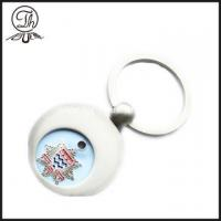 Buy cheap Personalised shopping trolley round shape tokens coin from wholesalers