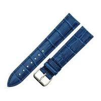 Buy cheap Blue Alligator Grain Leather Watch Band Straps from wholesalers