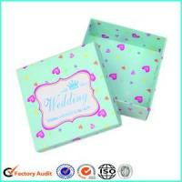 Buy cheap Cardboard Candy Box For Wedding Favors from wholesalers