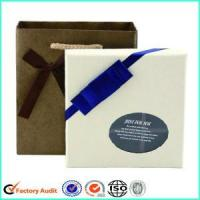 Buy cheap White Chocolate Box CardboardWith Clear Window Partition from wholesalers