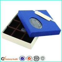 Buy cheap Empty Heart Shape Edible Chocolate Packaging Gift Box from wholesalers