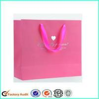 Buy cheap Wholesale Paper Bags With Personal Logo Print from wholesalers