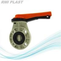 Buy cheap FRPP Butterfly Valve Lever Handle JIS 10K from wholesalers
