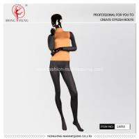 Buy cheap yellow dress stand female mannequins for sale from wholesalers