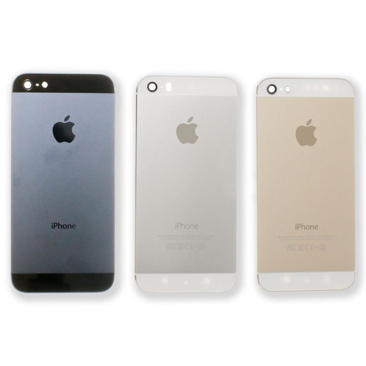 Buy cheap Back Battery Housing Cover Case For Apple iPhone 5S 5G from wholesalers