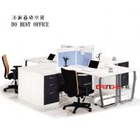 Buy cheap Open Modular Office Furniture Workstation Cubicle Workstation Partition from wholesalers
