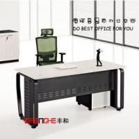 Buy cheap Luxury Wooden L-shape Office Chairman Executive Desk from wholesalers