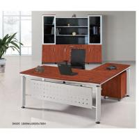 Buy cheap Elegant Design L Shaped Office Furniture Executive Desk from wholesalers