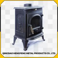 Buy cheap Long Time Burning High Efficient Smokeless Modern Wood Stove from wholesalers