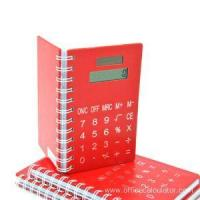 Buy cheap 8 Digits Spiral Notebook with Calculator from wholesalers