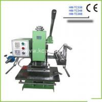 Buy cheap Manual Hot Stamping Machine HM-TC348 from wholesalers