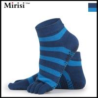 Buy cheap Best non slip skid yoga pilates socks with grips cotton for men from wholesalers