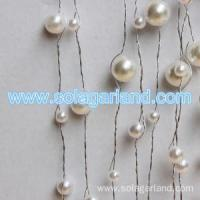 Buy cheap Acrylic Pearl Bead Garland Artificial Tree Branches from wholesalers