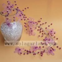 Buy cheap Acrylic Beaded Tree Branch & Flower For Decoration from wholesalers