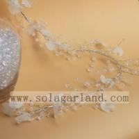 Buy cheap Acrylic Round Beads&White Piece Garland Tree Branches from wholesalers