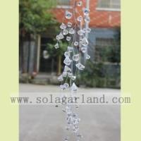 Buy cheap Acrylic Transparent Diamond Shape Bead Garland Tree Branches from wholesalers