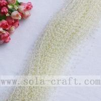 Buy cheap Milky White Artificial Faux Pearl String Beaded Garland from wholesalers