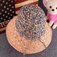 Buy cheap Crochet Handwork Paper Beach Hat for Women from wholesalers