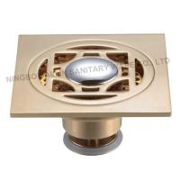 Buy cheap SL-601 All brass deodorize washing machine floor drain from wholesalers