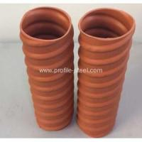 Buy cheap Round Plastic Prestressed Corrugated Pipe product