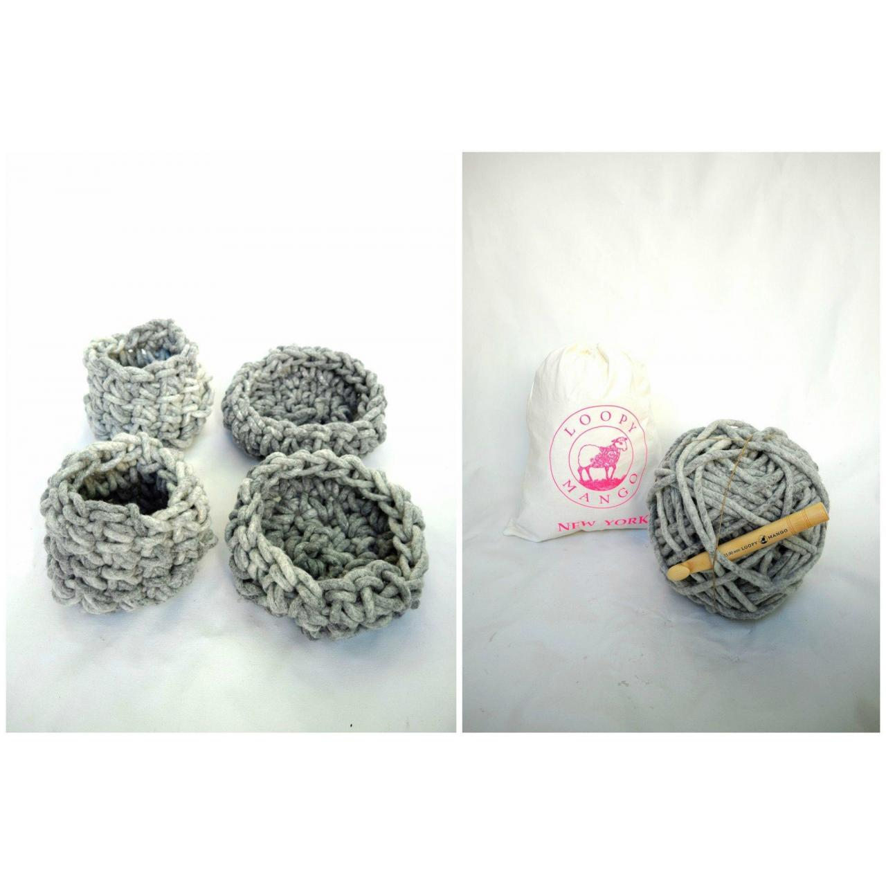Buy cheap DIY Kit - Almighty Loopy Baskets - Set of 4 product